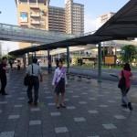 木下陽子さんの街頭活動 @JR長岡京駅